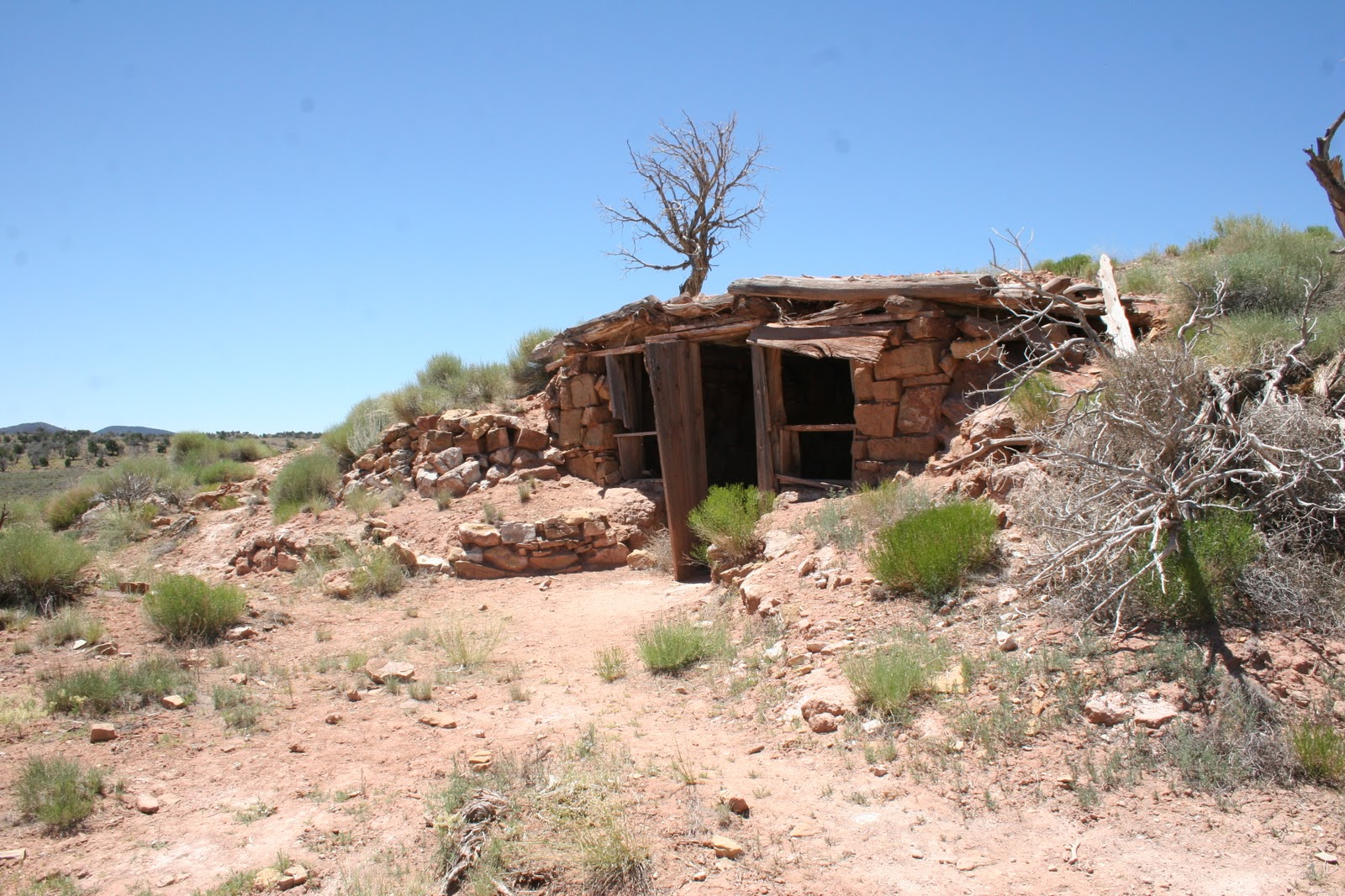 Southwest Explorations Primitive Earth Shelter