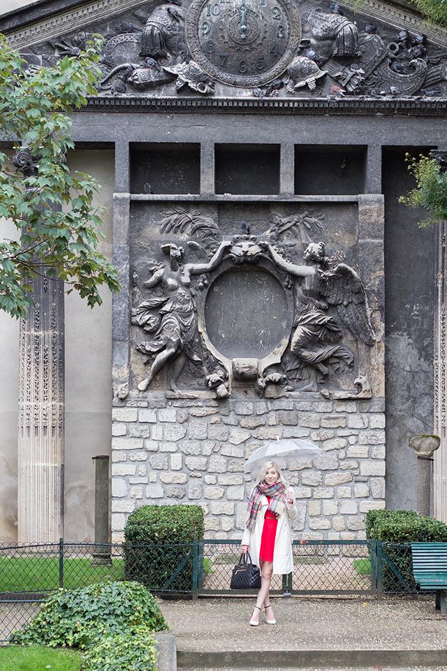Parisian architecture & fall fashion