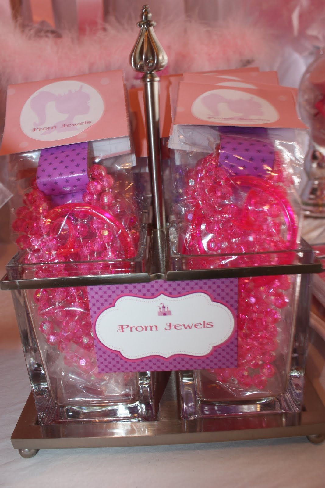 Buckets of Grace: Enchanted Prom Birthday Party - Part I, The Favors