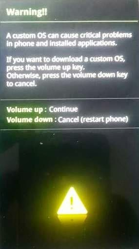 Root Note 4 SM-N9106W download mode