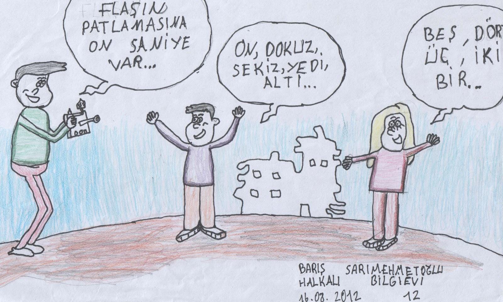 Yasarfiratkarikatürokulu öğrencilerde Karikatür çizimleri