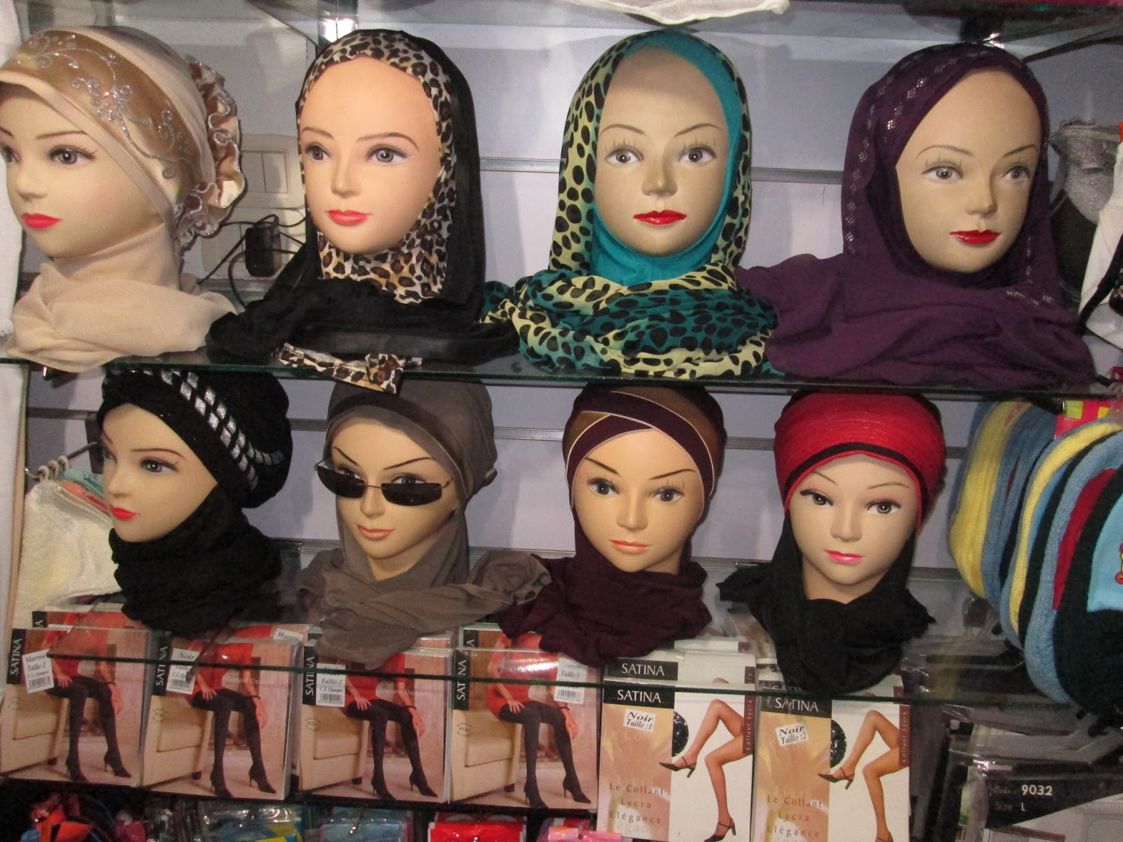 bonnet femme voilée tunisie