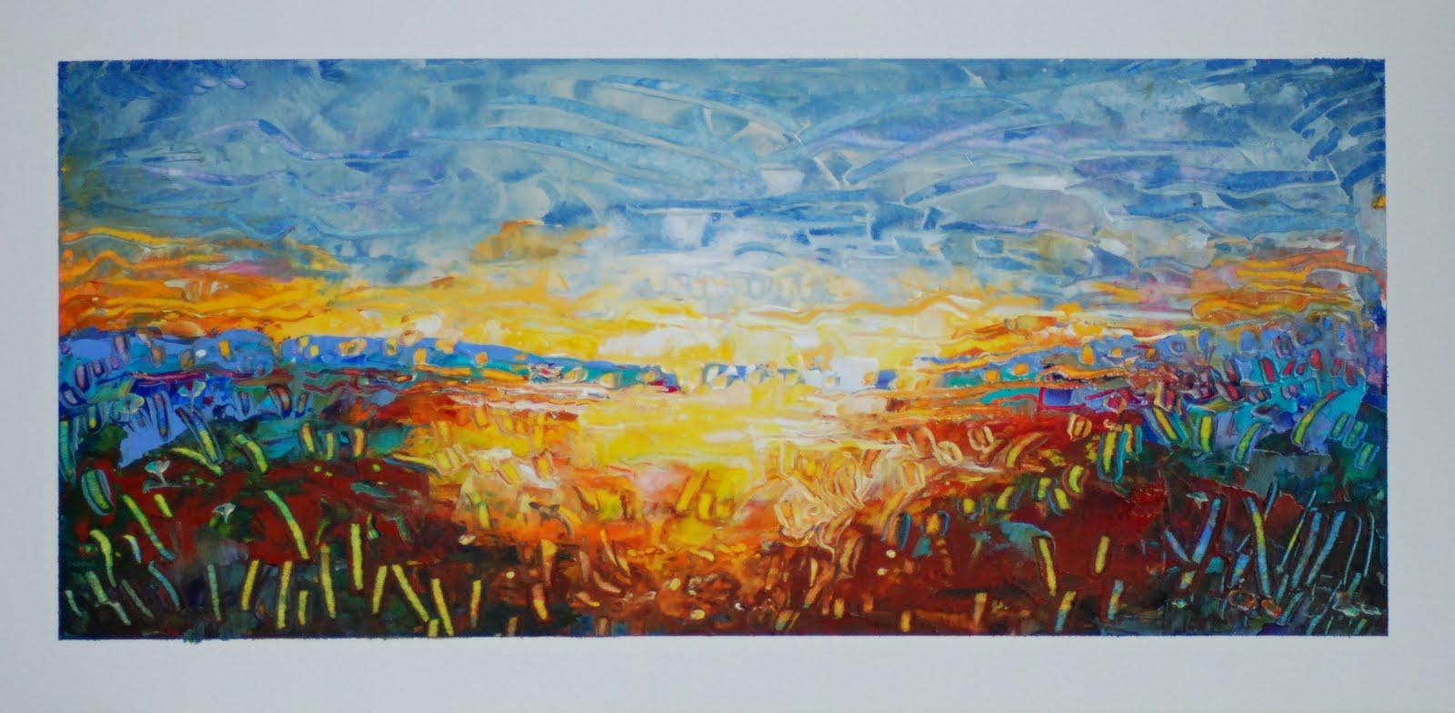 Vicki Wood JD Landscape Painting Mississippi Delta