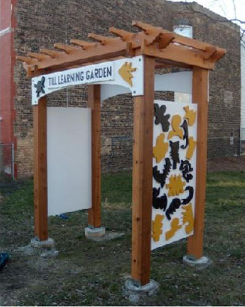 With The Installation Of The Arbor, The Till Academy School Garden Also  Received An Official Name And Is Now The U201cTill Learning Garden.
