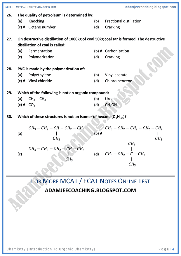 mcat-chemistry-introduction-to-organic-chemistry-mcqs-for-medical-entry-test