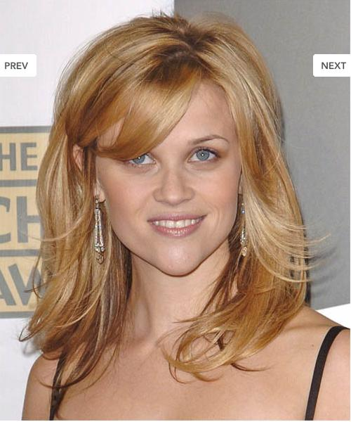 Reese Witherspoon Straight Hair Best Style Fashion: Re...