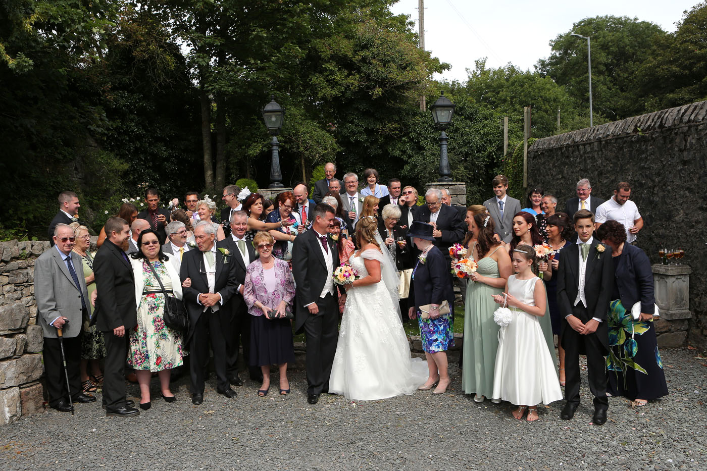 SteveHillman Wedding Photography Andrea And Graham Married At Chequers Hotel Dalton In Furness