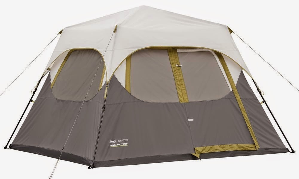Product Review Coleman Signature Instant Tent 6 With Rainfly & Product Review: Coleman Signature Instant Tent 6 With Rainfly ...