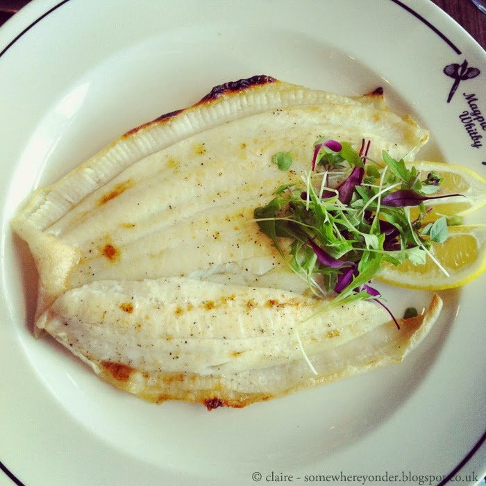 Delicious fish at the Magpie Café - Whitby, UK
