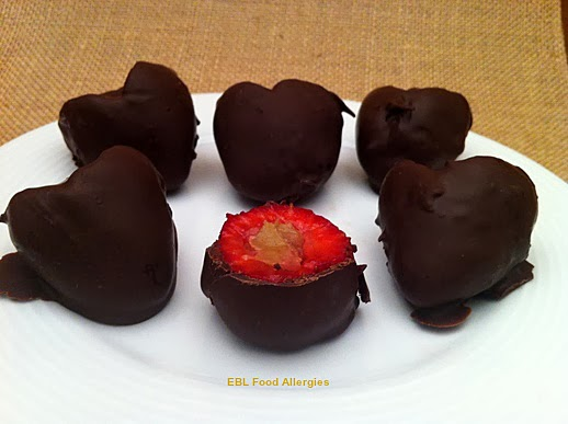 EBL Food Allergies: Sunbutter Berry Poppers #top8free