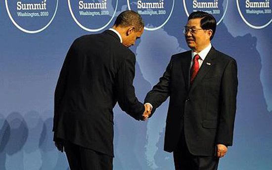 Obama- Hu Jintao