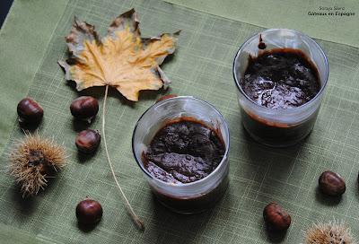 recette gateau choco marrons