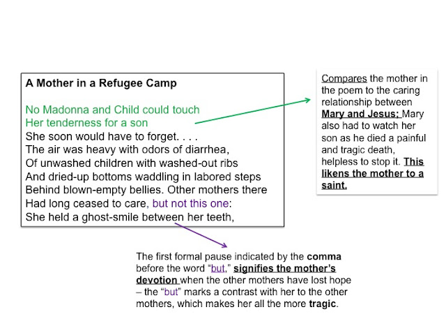 piano poem at thirty nine a mother in a refugee camp Home igcse  english literature  poetry anthology key points  links mother in a refugee camp  courage  link poem at thirty nine  parent/child,.