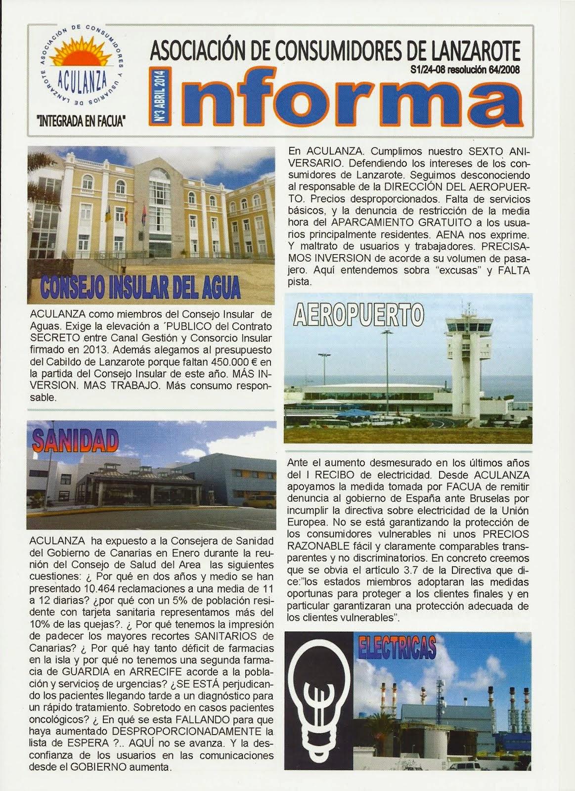 ACULANZA INFORMA 3ª EDICION
