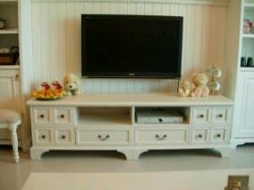 bufet tv mahogany finishing duco
