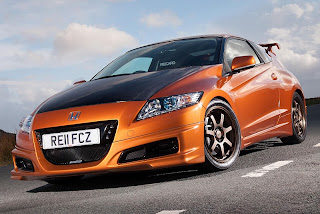 2012 Honda CR-Z Mugen with higher-performance hybrid