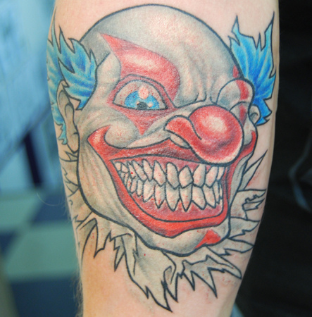 Clown Tattoo Designs For Men And Women 2011 Seen On Www