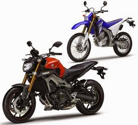 Yamaha MT-09 & WR250