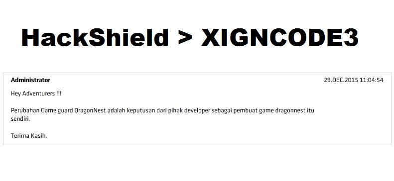 Xigncode драгон нест что делать 84
