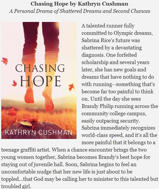 Chasing Hope written by Kathryn Cushman