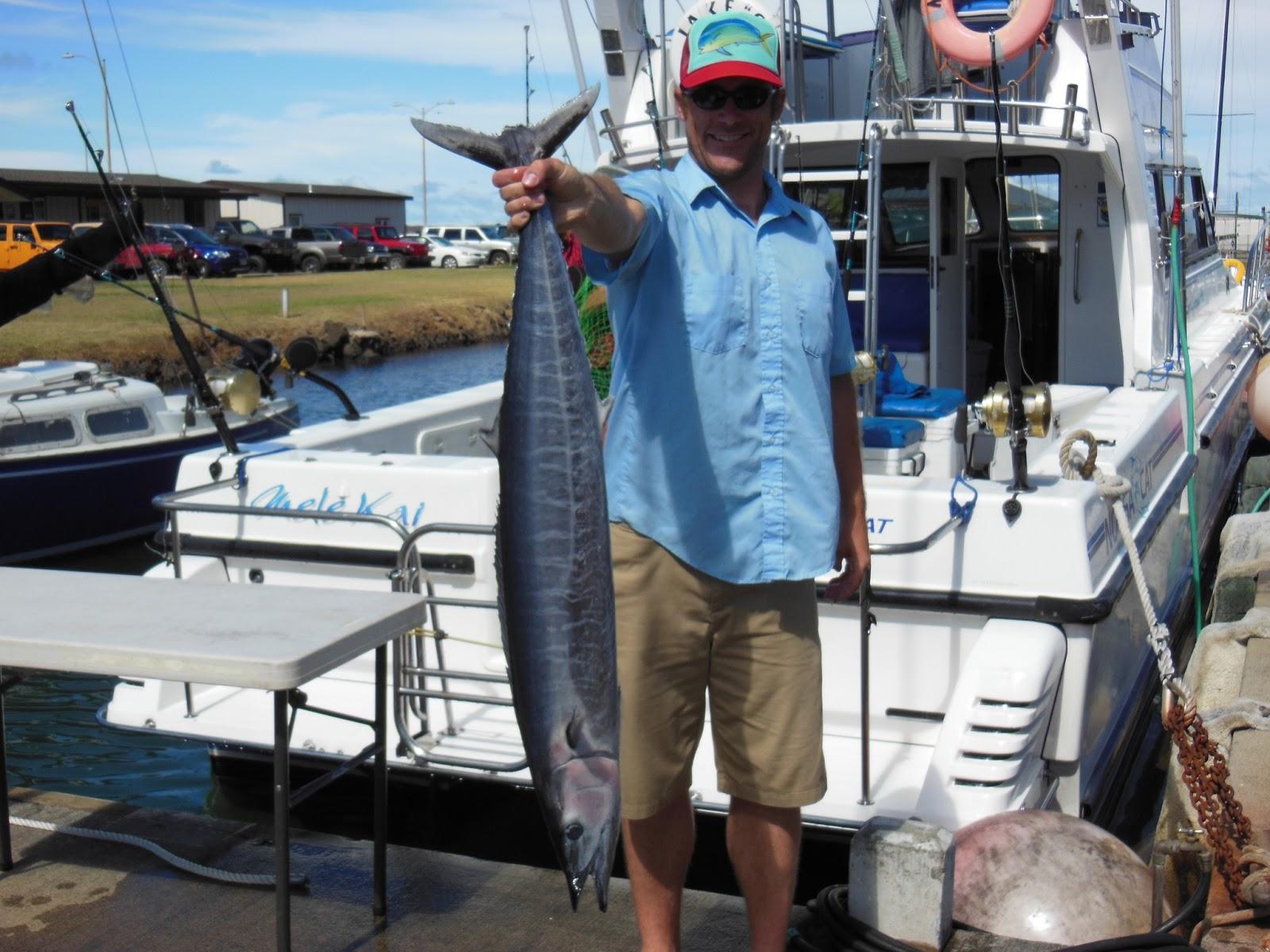 C lure fishing chaters kauai hawaii wahoo hawaii for Fishing in kauai