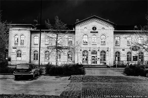 Arvika station, järnvägsstation, tågstation, tåg, järnväg, Arvikas