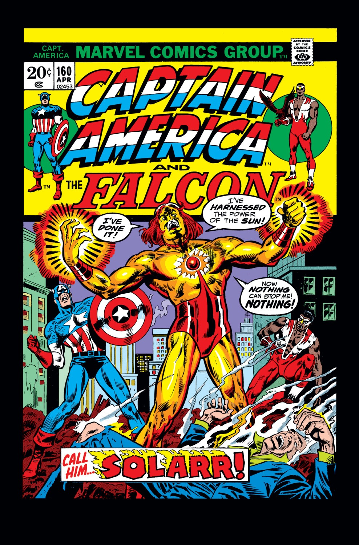 Captain America (1968) Issue #160 #74 - English 1