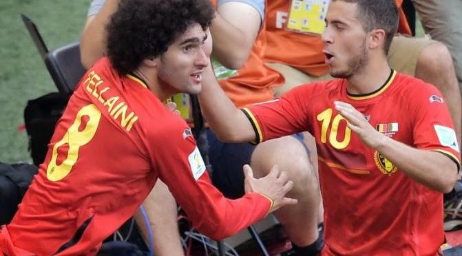 Wilmots Pelatih Belgia Nyatakan Si Kribo Hazard Siap Lawan Rusia