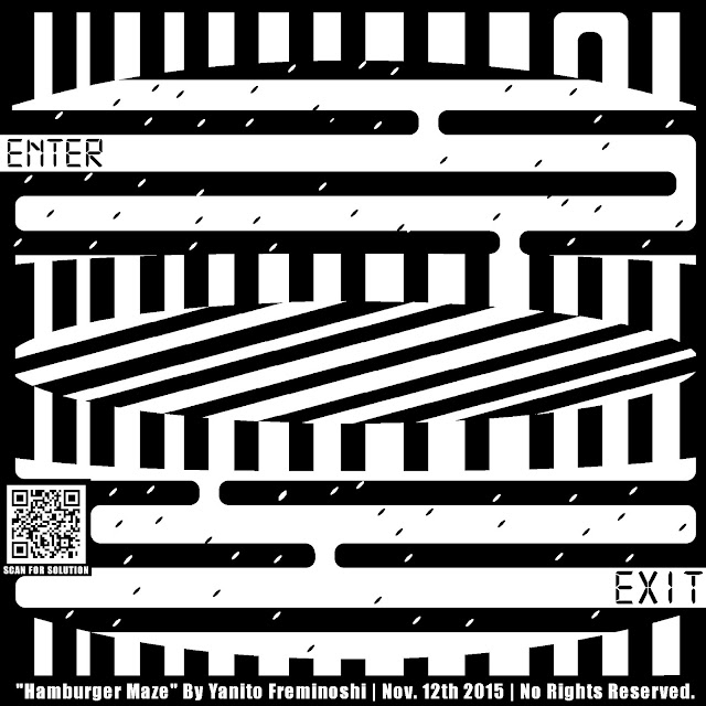 maze of hamburger