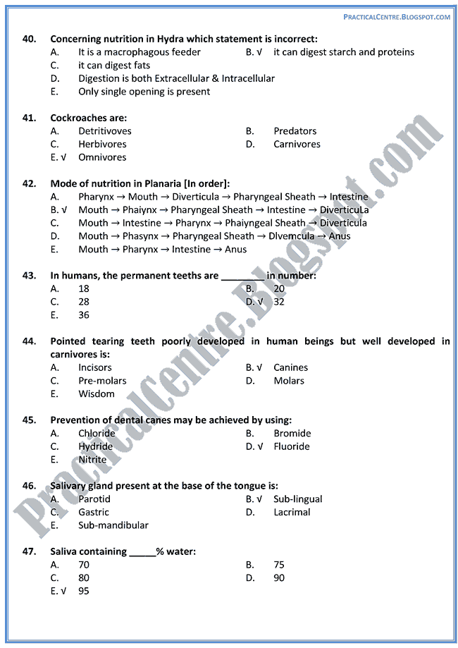 nutrition-mcat-preparation-mcqs-test-biology-xi-xii
