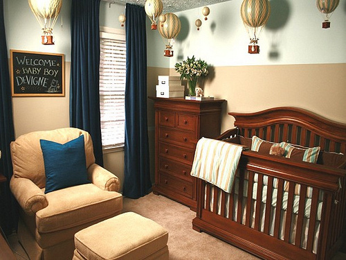 Country Style Nursery Ideas | Bunny Decoration