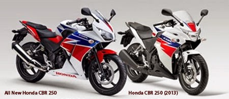 All New Honda CBR 250