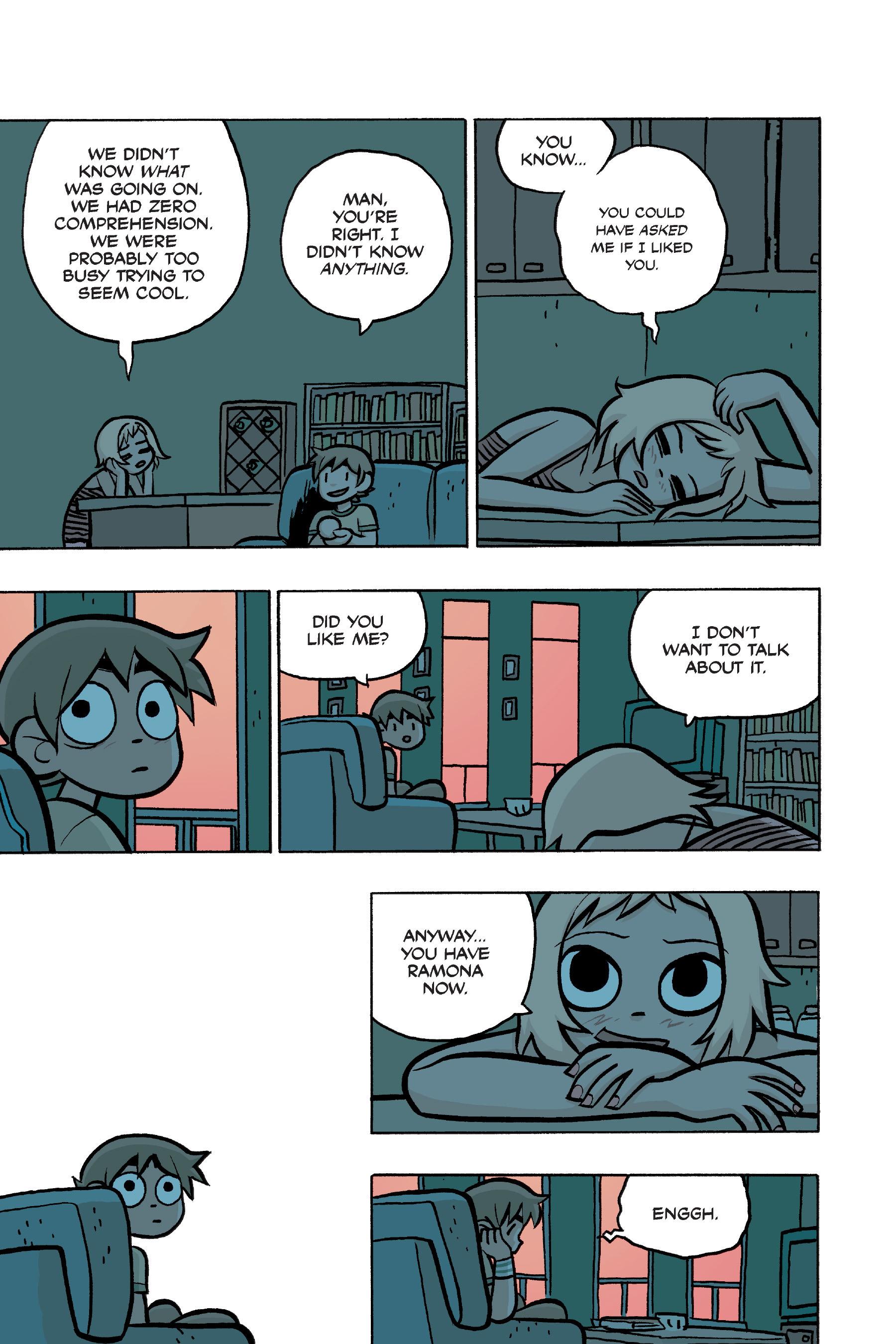 Read online Scott Pilgrim comic -  Issue #4 - 137