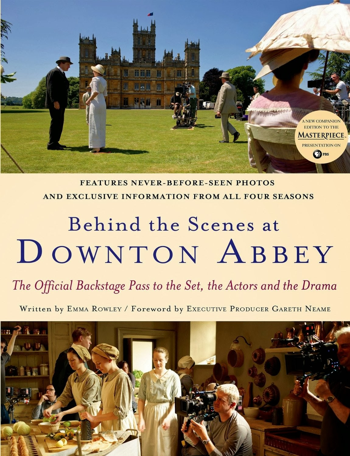 vvb32 reads: Downton Abbey: Behind the Scenes