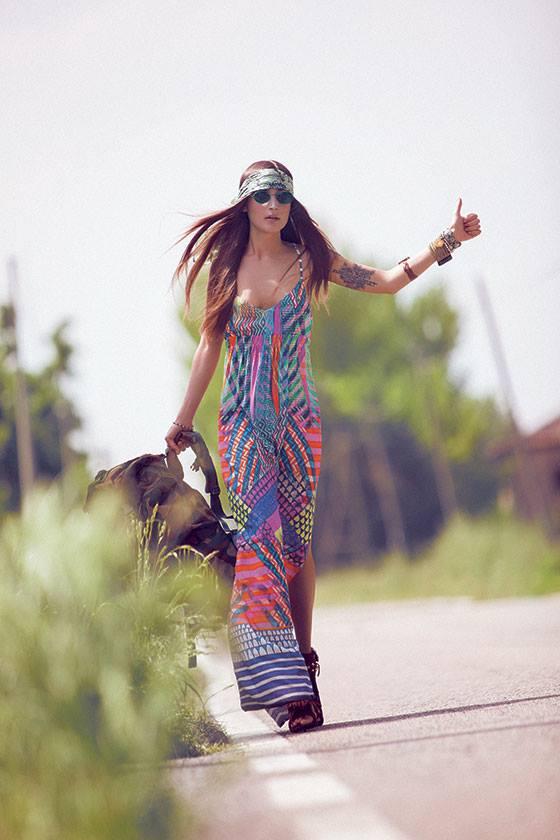 Vestidos de fiesta largos hippies