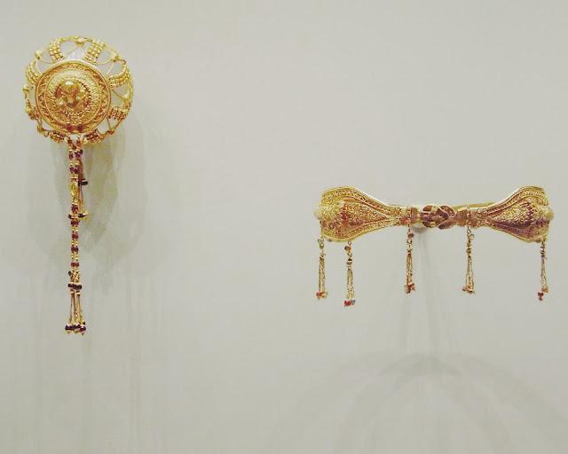 Architecture, Art, Getty Villa, Jewelry, Crown