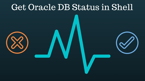 Check Oracle Database status in bash shell