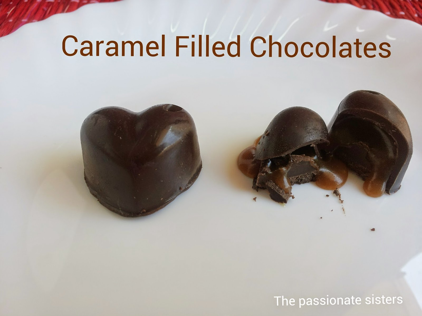 Caramel Filled Chocolates