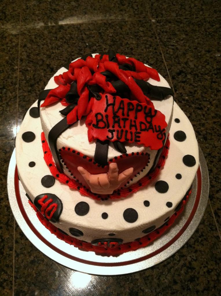 Fondant Cake Design For Husband : Cat s Cake Creations: