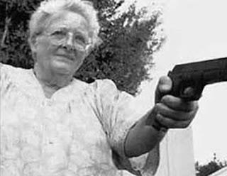 The Rambo Granny of Melbourne, Australia