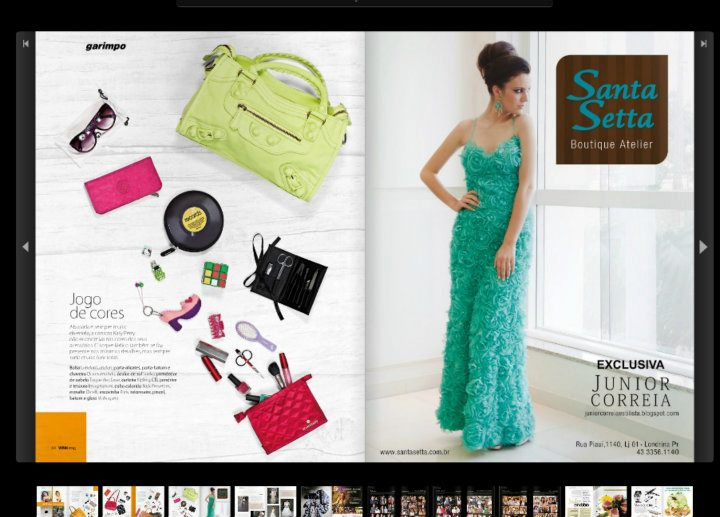 santa setta boutique atelier santa setta exclusiva junior correia na revista wink. Black Bedroom Furniture Sets. Home Design Ideas