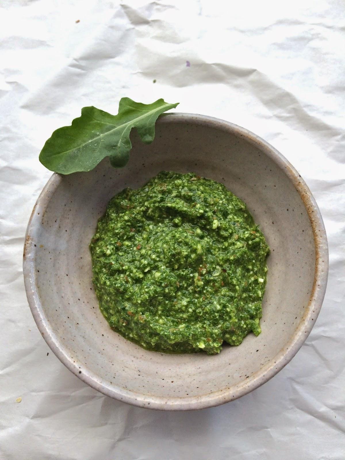 Passionately Raw! : Arugula Pesto Recipe