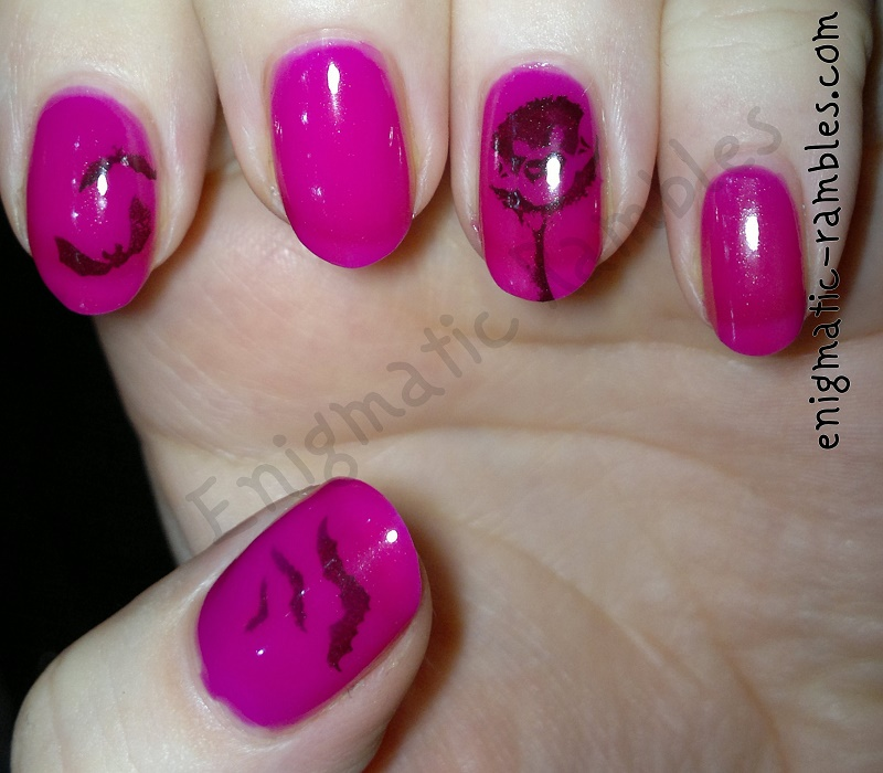 neon-stamping-stamped-bats-bat-nails-nail-art-bundle-monster-bm13-bm213-bm301