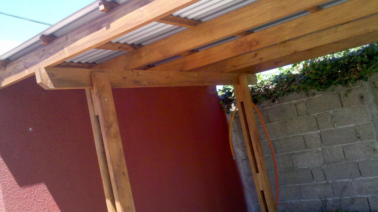 la madera y sus creaciones techos livianos todos los