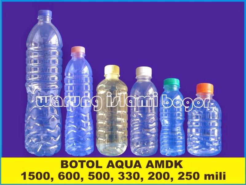 Jual Aneka Botol Plastik Kemasan Air Minum Dalam Kemasan