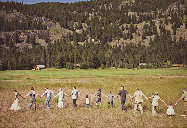 Life Of A Vintage Lover Intimate Mazama Ranch House Wedding