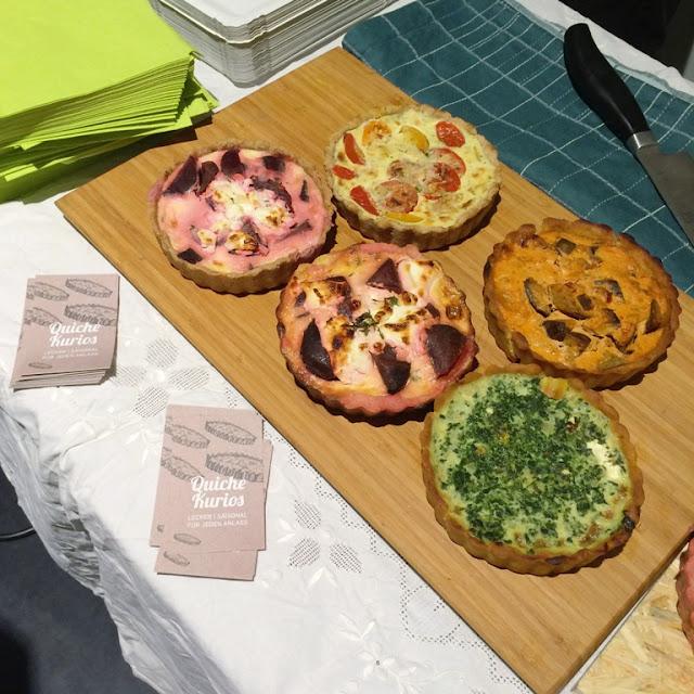 sunday upmarket, Köln, Ehrenfeld, Barthonia Forum, Flohmarkt, Designmarkt, Quiche Kurios, glutenfrei