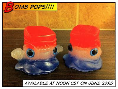 Bomb Pop Goober & Booger Resin Figures by Motorbot