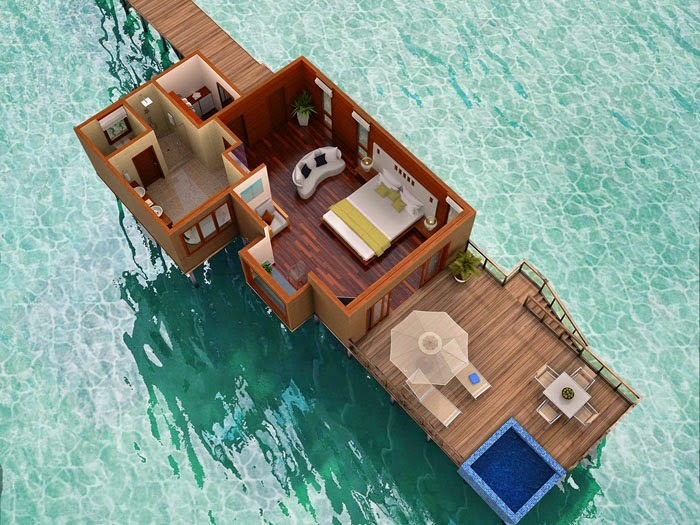 Conrad Maldives Rangali Island 馬爾代夫倫格里島康萊德度假酒店