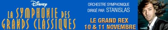 Disney, la Symphonie des Grands Classiques au Grand Rex